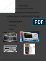 Laboratorio de Com Anag - TX y Rx AM en Modulo NIDA