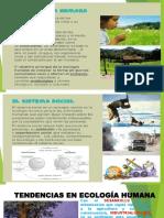 Presentación1. Tendencias de La Ecologia Humana