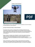 Como Poner Un Negocio de Video Con Vuelo de Drones - Guía de Negocio