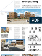 Sechsgeschossig Hummelkaserne Wohnungsbau Graz SPS Architekten