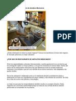Como Poner Un Restaurante de Antojitos Mexicanos - Guía de Negocio