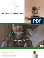 Startup Pharmaceuticals Social Media Plan