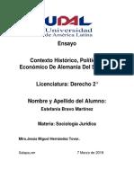 Contexto Histórico, Politico y Economico De Alemania Del Siglo XIX-.docx