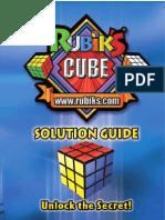 Rubiks Cube 3x3 Solution-En