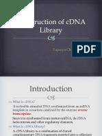 construction of cDNA library