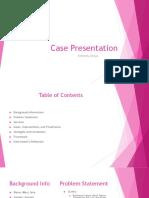 swk 4910- case presentation
