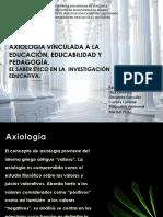 Axiología y Educabilidad