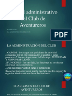 Manual Administrativo Del Club de Aventureros