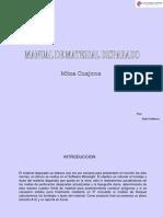 Manual de Material Disparado
