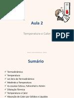Termodinâmica Slides