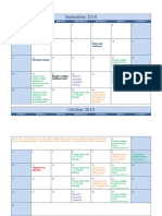 marketing plan 2010 calendar
