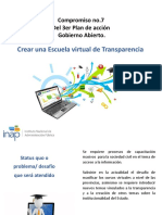 Escuela virtual de Transparencia