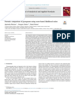 Forensic Comparison of Pyrograms Using Score-based Likelihood Ratios