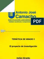 2 Proyectos Investigacion