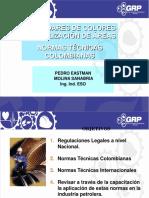 Normas Tecnicas Colombianas para Señalizacion y codigos de colores.pdf