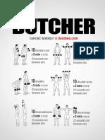 Butcher Workout