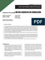 Matriz de Falla Motor de Induccion