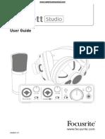 FocusriteScarlettStudio Manual