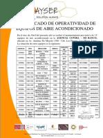 Certificado de Aa - Covida, Lima