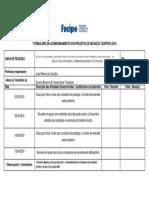 Formulário de Acompanhamento - Olinda-pe (Dayane - Voluntário) 2019