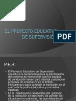 El Proyecto Educativo de Supervisión