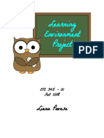pavese ete 345 learning environment project