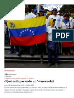 Que Esta Pasando en Venezuela Por Gabriela Martinez 18 02 2019