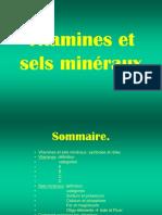 Vitamine sels mineraux