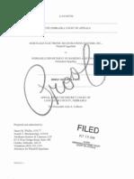 MERS Appellants Brief MERS v Nebraska Dept of Banking Filed 15 Oct 2004