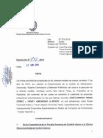 Caso Alan Garcia - Queja