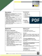 Technical Data Sheet Chryso Cim 5376 115