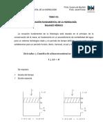 8 Ecuación Fundamental de La Hidrología