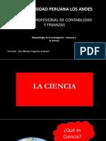 La Ciencia metodologia de la investigacion