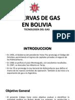 Reservas de Gas - Proyecto Tecnología Del Gas