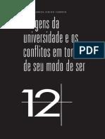CARDOSO, I. a .R. Imagens Da Universidade e Os Conflitos Em Torno Do Seu Modo de Ser