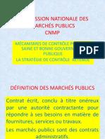 Commission Nationale Des Marchés Publics Cnmp
