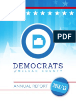McDems Annual Report (2018 - 2019)