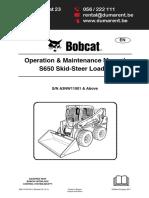 Bobcat S650 - En