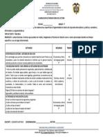 PLANEACION ACTIVIDAD HORA DE LECTURA GRADO 7°