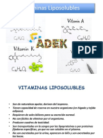 8.3. Vitaminas Liposolubles