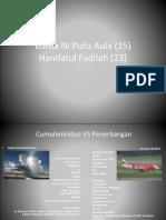 Cumulonimbus vs Penerbangan