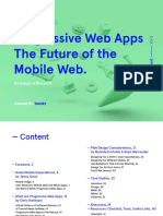 Progressive Web Apps - The Future of the Mobile Web