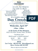 Arizona Reception For Dan Crenshaw