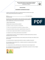 Guía Movimiento Uniforme Rectilineo Prof.betty