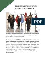 Estado Mayor Del Ejército Peruano
