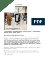 Como Poner Una Tienda de Ropa de Diseño - Guía de Negocio