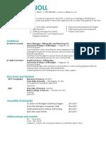 resume-cover letter