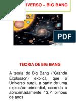 O Universo - Big Bang
