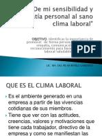 Clima Institucional .PRESS