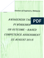 Awareness Talk & PI Workshop